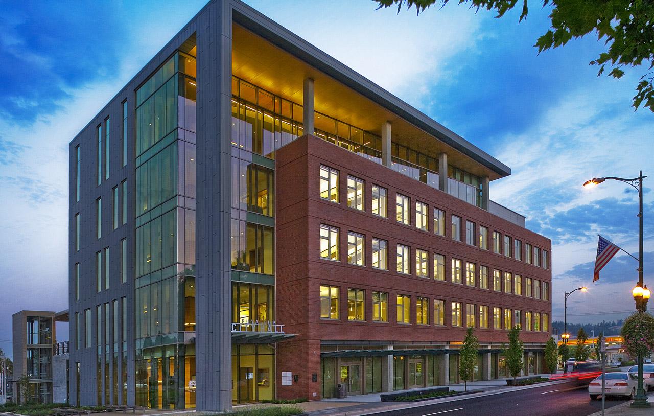 Puyallup City Hall, Washington   Glazing Contractor: Larson Glass   Architect: Mithun   Glass PPG SolarBan 70