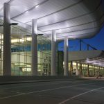 Anchorage Alaska International Airport | Glazing contractor: Commercial Contractors | Architect: McCool Carlson Green | Glass: SolarBan 60 Laminated