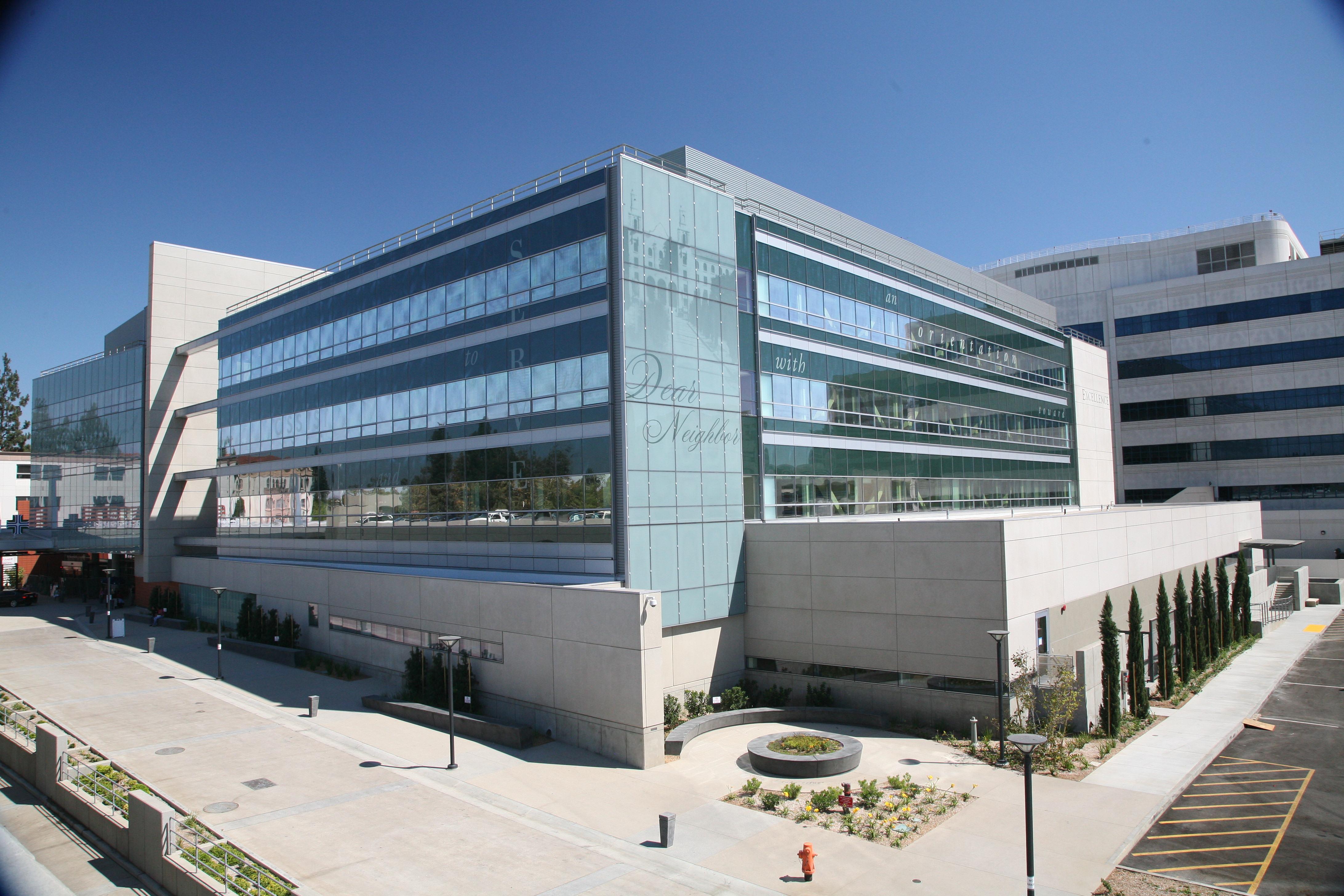 St Joseph Hospital Hospital of Orange Calif. | Glazing contractor: Model Glass | Architect: NBBJ | Glass: PPG SolarBan 60 and 80 with custom silkscreen