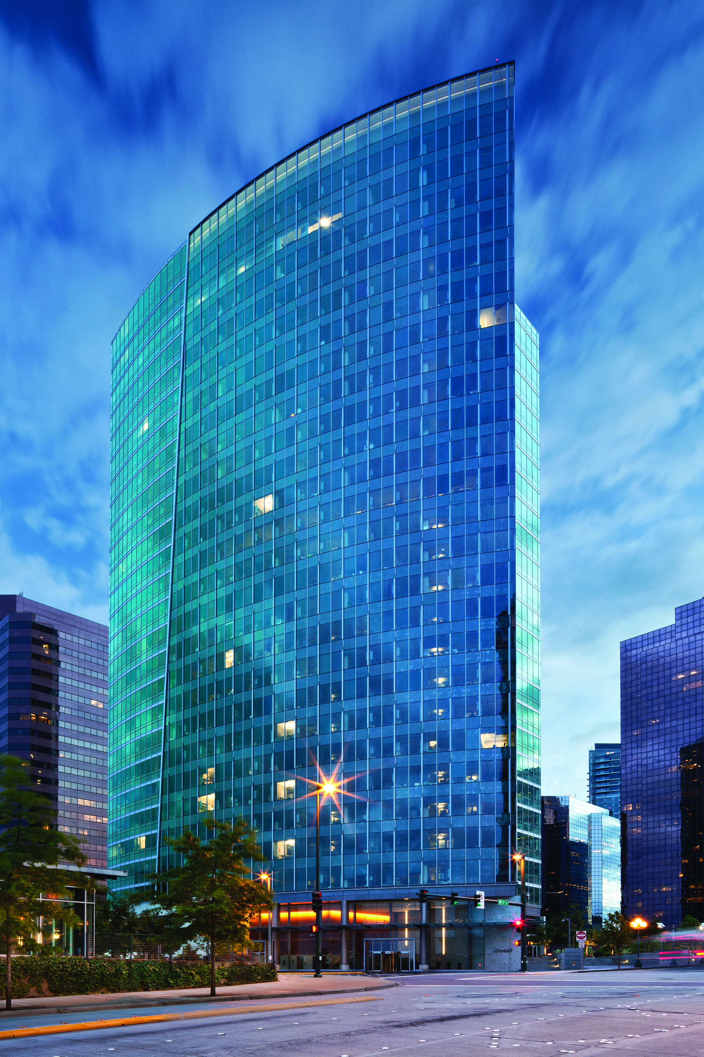 Bellevue City Center | Glazing contractor: Walters and Wolf | Architect: SRG Partnership | Glass: PPG SolarBan 70
