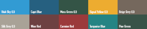 Miscellaneous Opaci-Coat Colors